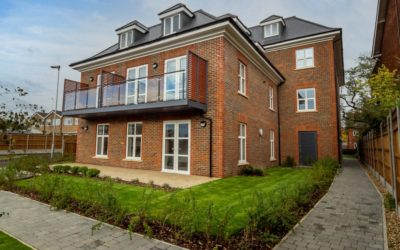 Completion of 25 apartments for sale, shared ownership and affordable rent in Bushey for Watford Community Housing