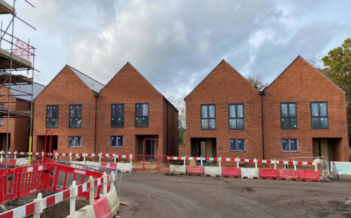 GOOD PROGRESS IS BEING MADE AT THE WOODLARKS