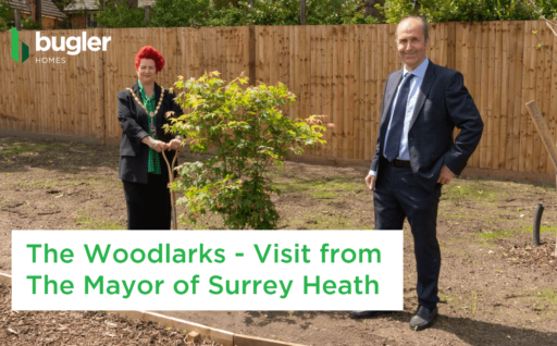 The Woodlarks – Visit from The Mayor of Surrey Heath Cllr Sarah Jane Croke