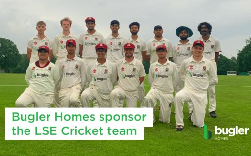 Bugler Homes sponsor LSE cricket team
